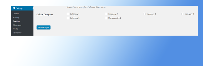 Simple Exclude Categories