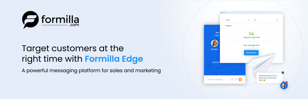 Formilla Edge Targeted Messaging Platform for Sales and Marketing