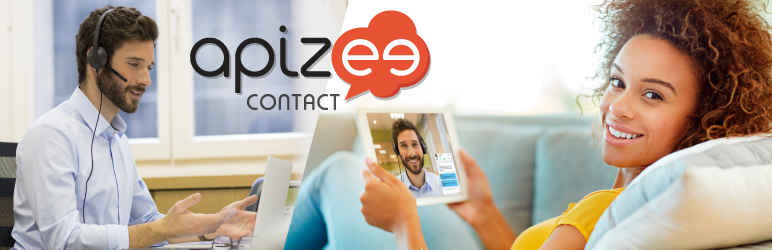 Apizee Contact – Live Chat Plugin