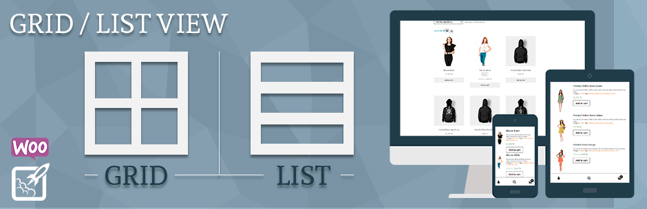 Grid/List View for WooCommerce