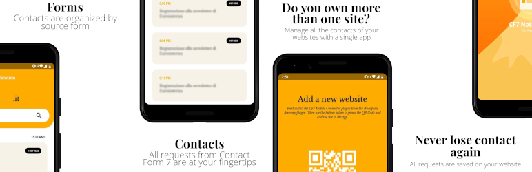 Contact Form 7 Database & Mobile App – CF7 DB & App