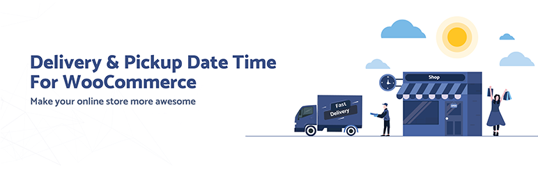 Delivery & Pickup Date Time for WooCommerce