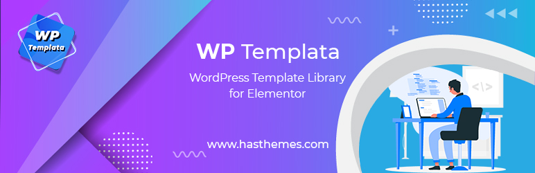 WP Templata – WordPress Template Library for Elementor