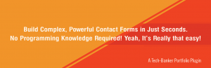 Read more about the article Contact Bank – Contact Form Builder for WordPress | Tech-Banker | contact form,form,form builder,form creator,forms