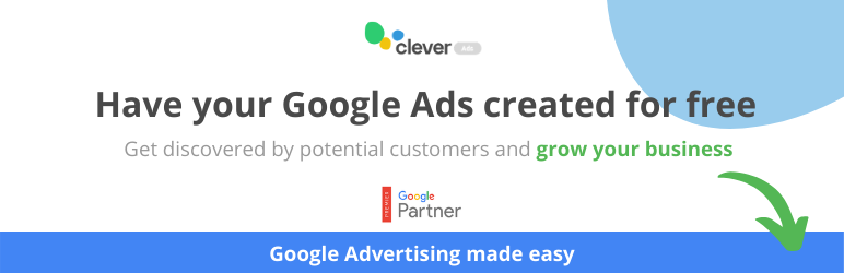 Ads on Google by Clever Ads Creator