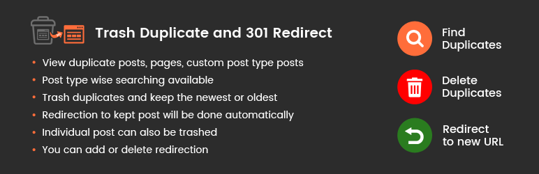 Read more about the article Trash Duplicate and 301 Redirect | Solwin Infotech | Delete duplicate,duplicates,find duplicates,fix duplicates