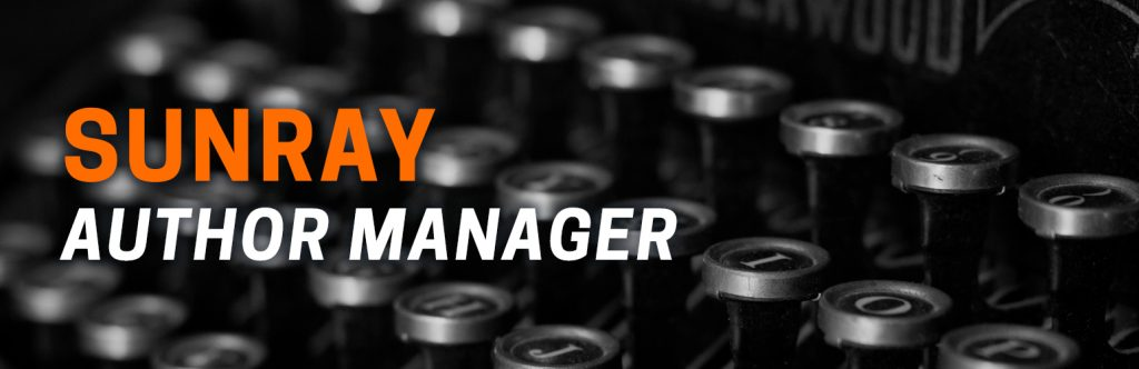 Sunray Author Manager