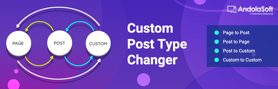Custom Post Type Changer | Andolasoft | custom post type