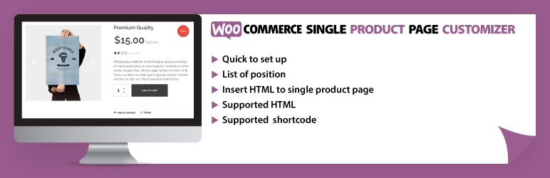 Woocommerce Single Product Page Customizer | Geek Web Solution | insert html in product page