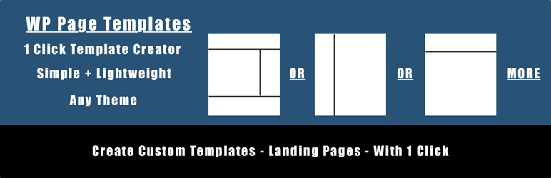 WP Page Templates | GreenJayMedia | custom pages