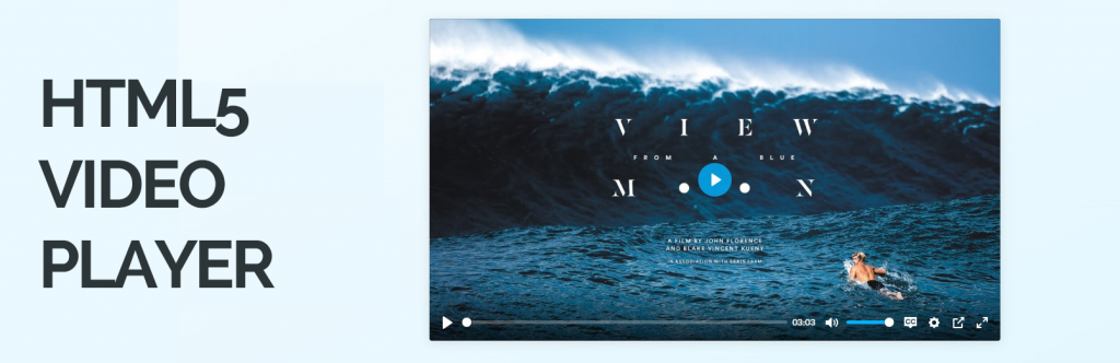 Html5 Video Player – mp4 player