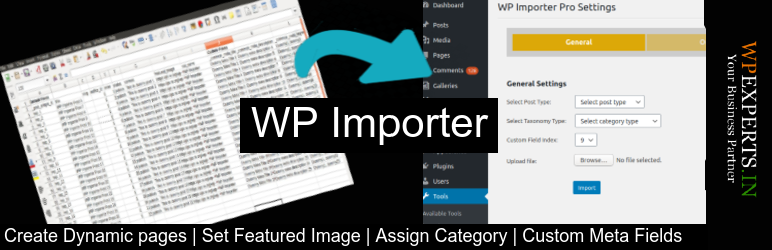 Import CSV File to WordPress | WP Experts Team | csv importer