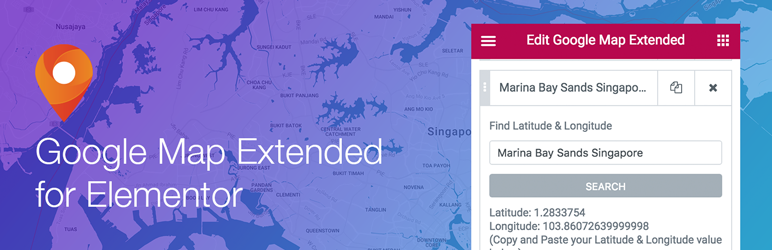 Read more about the article Extended Google Map for Elementor | InternetCSS | elementor addons,elementor google map widget,elementor maps widget,elementor plugins,google map