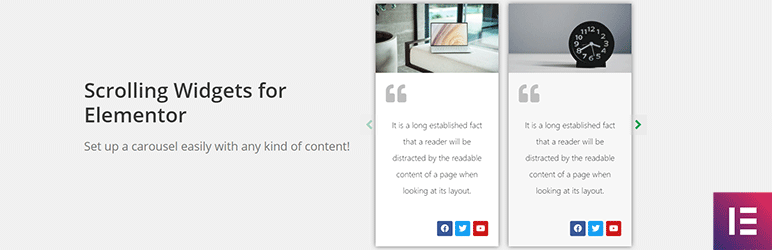 Content Slider for the Elementor Page Builder | Movelize | content carousel