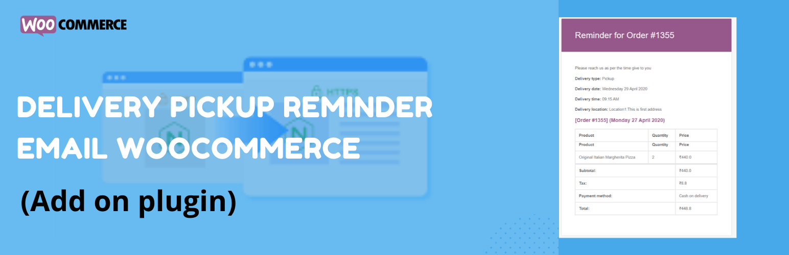 Read more about the article Delivery pickup reminder email Woocommerce | PI Websolution | email reminder,reminder