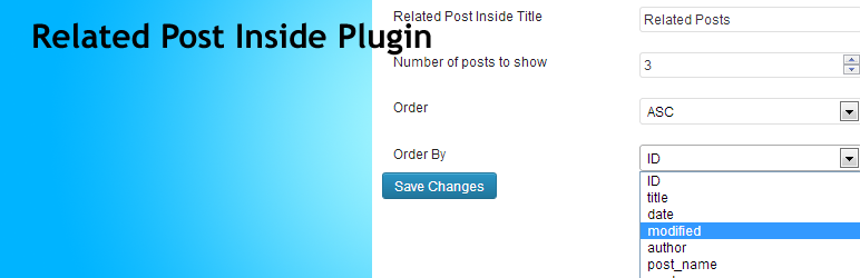 Related Post Inside Plugin | Liton Arefin | inside related posts