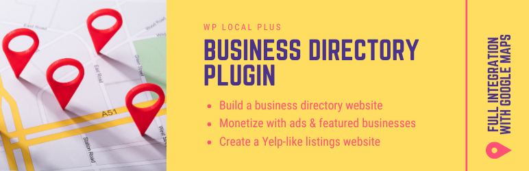 WordPress Directory Plugin For Business Listings –  WP Local Plus | WPeka | business directory