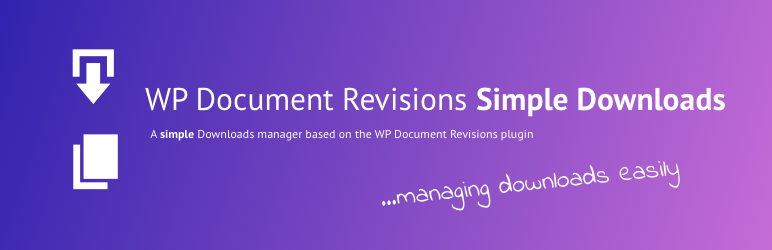 Read more about the article Simple Download Manager for WP Document Revisions | David Decker – DECKERWEB | documents,download manager,downloads,file manager,files
