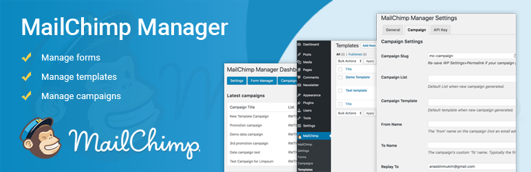MailChimp Manager | MCManager Team | campaigns