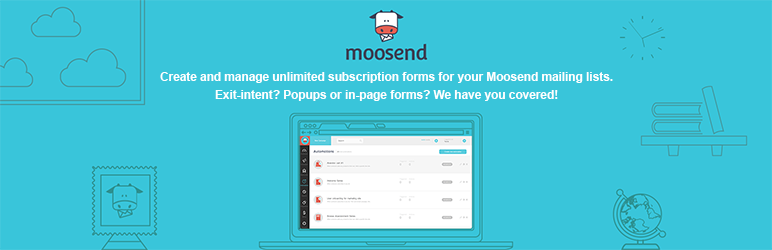 Moosend Subscription Forms for WordPress   Moosend   custom forms