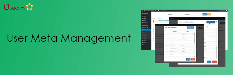 User Meta Management | Osmosys Software Solutions | management