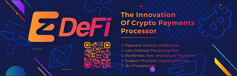 Read more about the article ezDeFi – Bitcoin, Ethereum and Cryptocurrencies Payment Gateway for WooCommerce | ezDeFi | bitcoin,btc,cryptocurrency,eth,ethereum