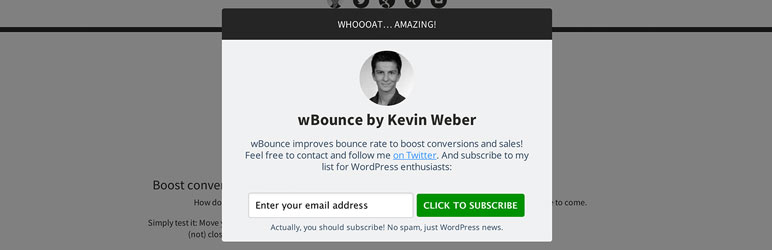 Read more about the article wBounce   Kevin Weber