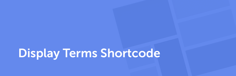Display Terms Shortcode | SEO Themes | categories