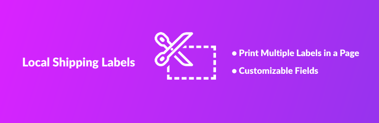 Local Shipping Labels for WooCommerce   WooFX   packing slips