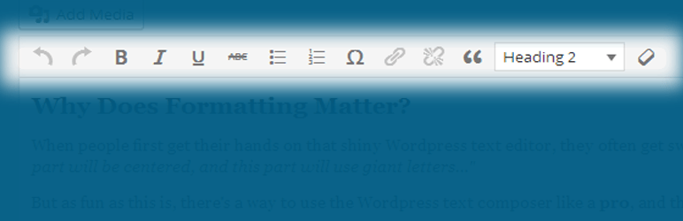 Remove Problematic Formatting Options From tinyMCE | PIXELovely | seo
