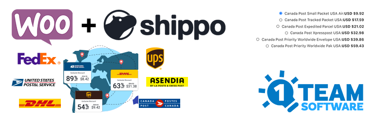 Multi-Carrier Shippo Shipping Rates & Address Validation for WooCommerce | OneTeamSoftware | address validation