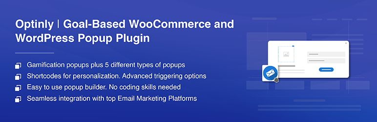 WordPress Popup Plugin by Optinly – Exit-intent popups