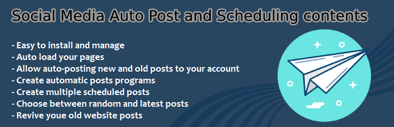 Social Media Auto Post and Scheduling contents | Raef Ghribi | auto post