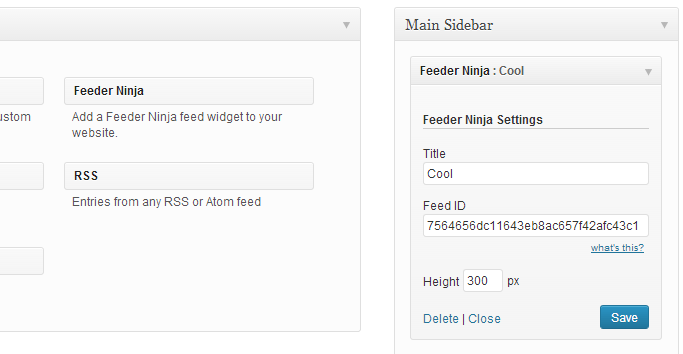 Feeder Ninja: Create and add RSS & Social feeds to your website on-the-fly   Common Ninja   Facebook Widget