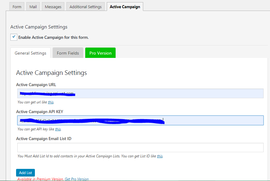 Active Campaign & Contact Form 7 | WPoperation | active campaign