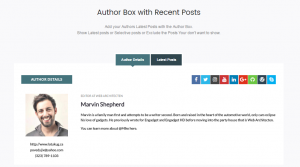 Read more about the article Free Responsive Post/Article Author Section Plugin for WordPress – Ultimate Author Box Lite | AccessPress Themes | author,author box,Author Profile,author social icons