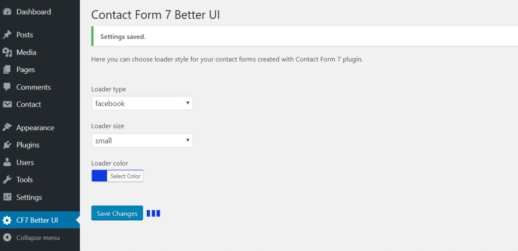 Better UI for Contact Form 7 | Roman Kovalchik | contact