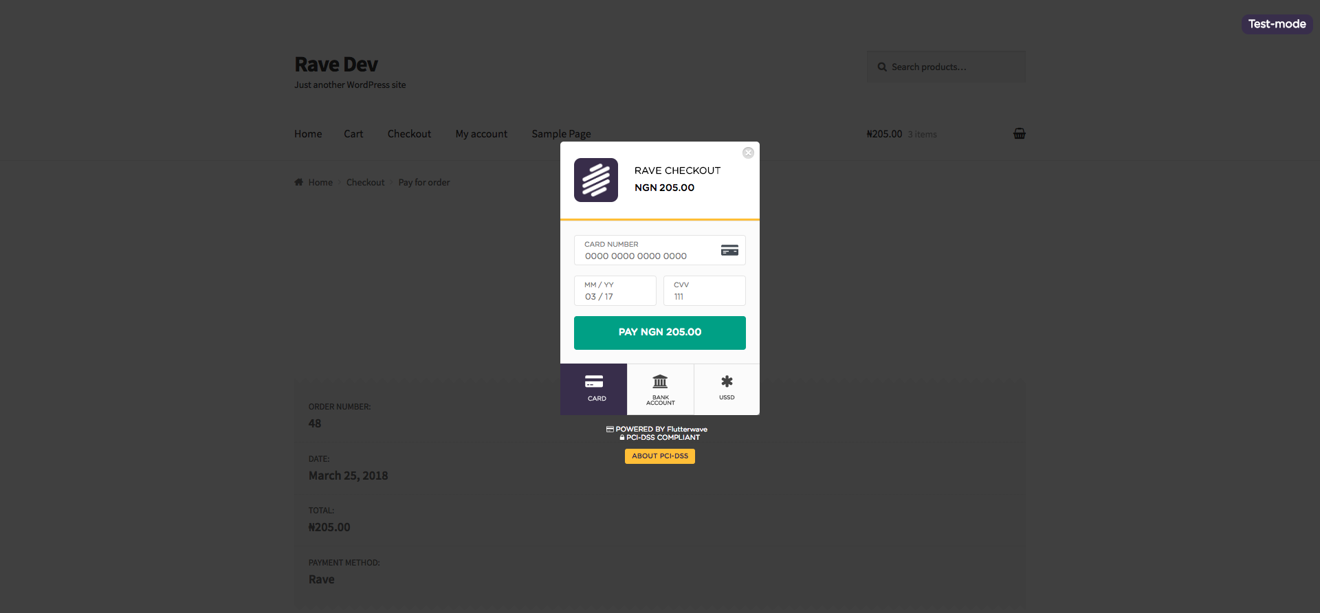 Read more about the article WooCommerce Rave Payment Gateway | Tunbosun Ayinla | flutterwave,payment gateway,payment gateways,rave,woocommerce