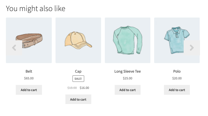 Woocommerce Cross Sell Products Display | Logicfire | carousel slider