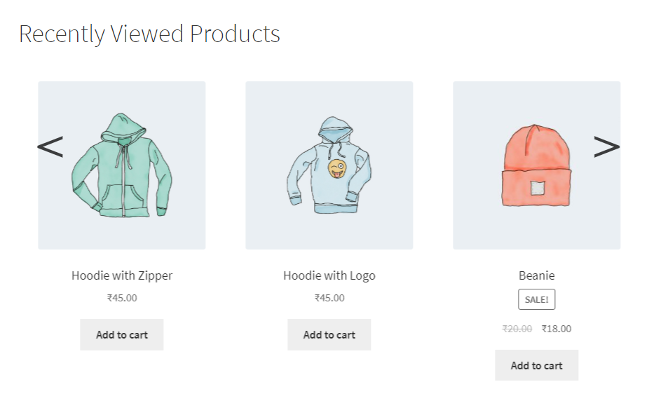 Recently Viewed Products | Rajnish Arora | recent products