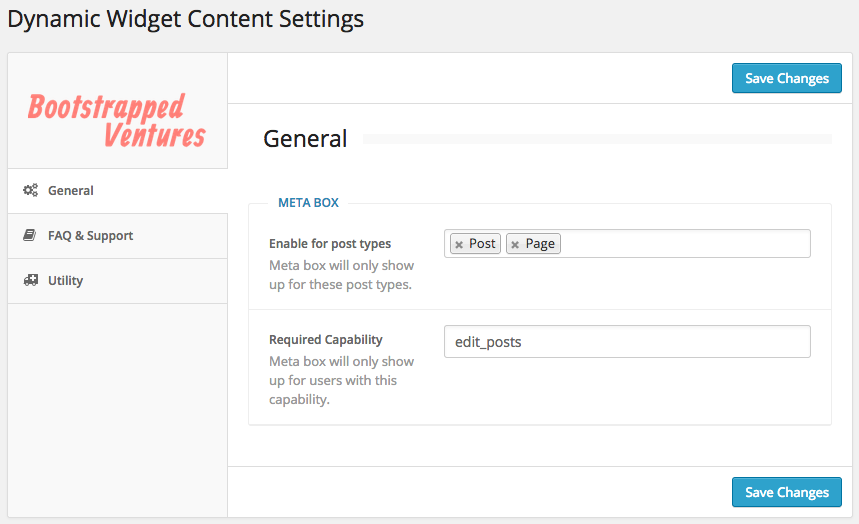 Read more about the article Dynamic Widget Content | Bootstrapped Ventures | dynamic content,widgets