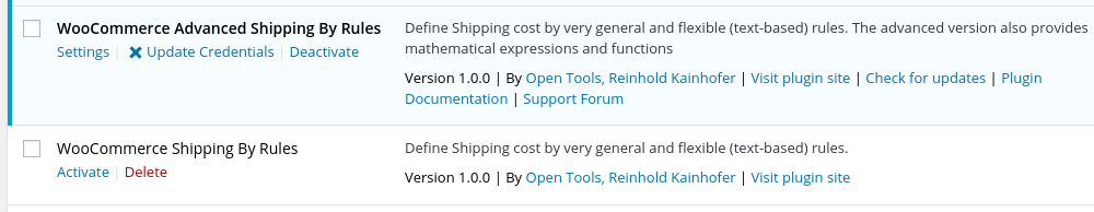 Shipping by Rules for WooCommerce | Open Tools