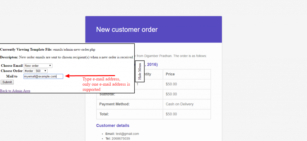 Preview E-mails for WooCommerce