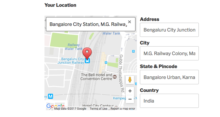 Google Map for Contact Form 7