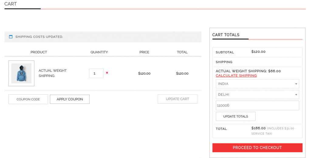 Woocommerce Product Shipping Table Rates   phoeniixx   free shipping