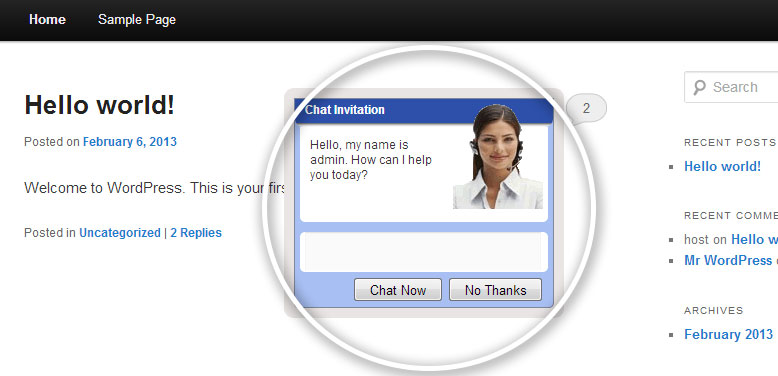 ZChat – Live Chat Plugin for WordPress